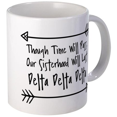 CafePress - Delta Delta Delta Sisterhood - Unique Coffee Mug, Coffee Cup