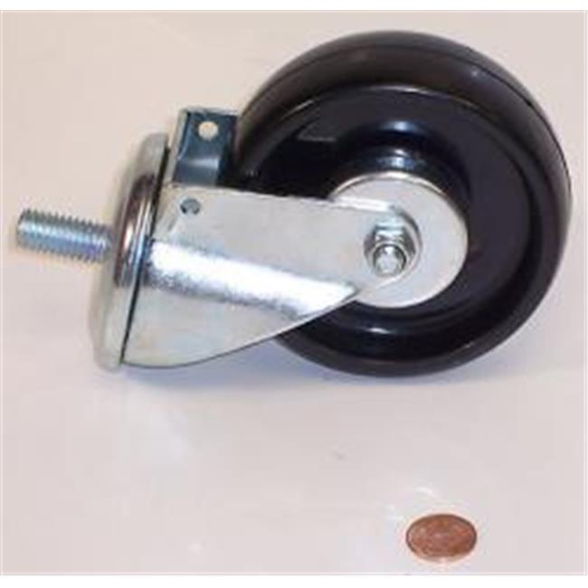 Zendex Tool UT2006-B56 Caster Assembly Without Nut 4 in.