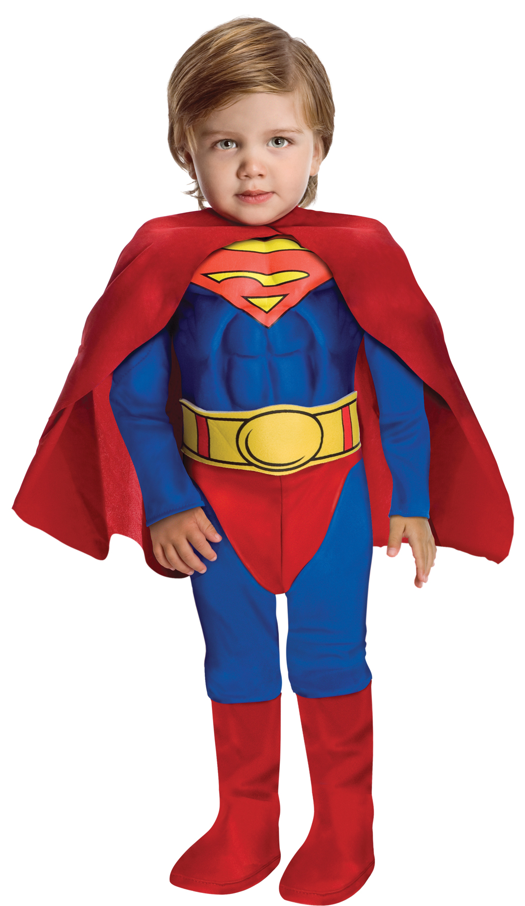 Superman Muscle Chest Toddler 2T Halloween Costume Rubie/'s