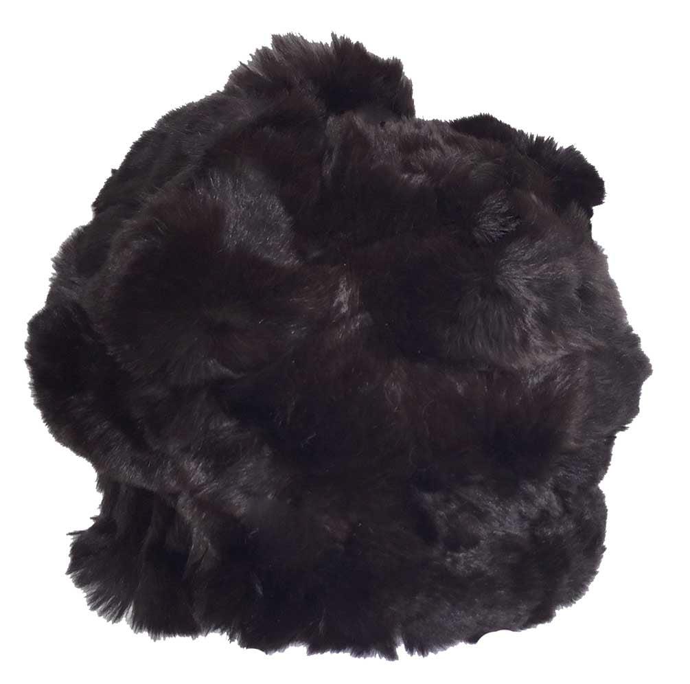 Northstar Women's Chinchilla/Fox Fur Fashion Beanie Hat w...