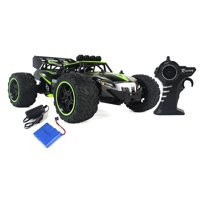 Gallop Ghost Top Speed Remote Control 2.4 GHz RC Green Toy Buggy Car 1:14 Scale Size Ready To Run w/ Working Suspension, Spring Shock Absorbers