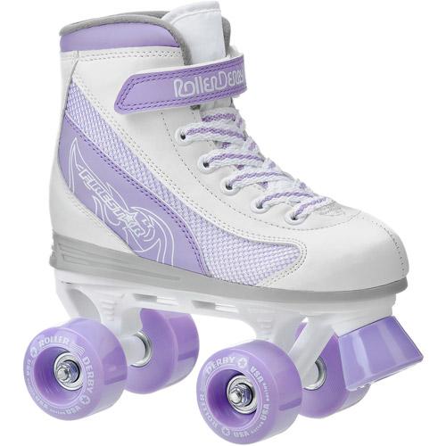 Roller Derby Skate Corp FireStar Youth Girls' Roller Skates, White