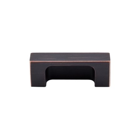 Top Knobs TK275TB Sanctuary II Collection 2' Modern Metro Tab Pull, Tuscan Bronze