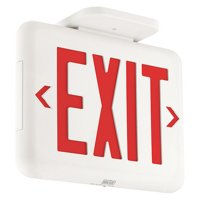 HUBBELL LIGHTING - DUAL-LITE Exit Sign with Battery Backup,2.01W EVEURWE