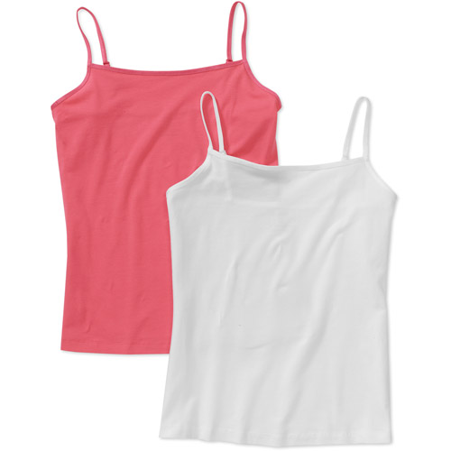 George - Women's Basic Camis, 2-pack