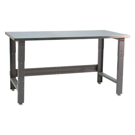 Stainless Workbench - Bench Pro Roosevelt 1600 lb. Workbench with Stainless Steel Top