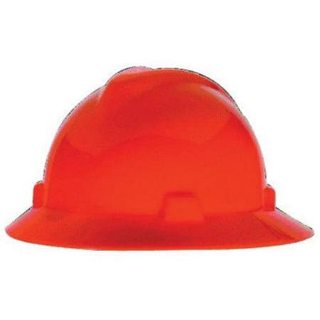 Msa 454-489360 Chapeau Hi-Vis Orange Avec Staz-On - image 1 de 1