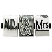 Language Art Mr and Mrs by Greg and Dilynn Puckett Textual Art in Black and White