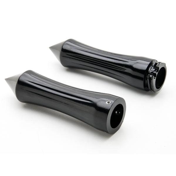 Motorcycle Hand Grips 1 Inch Handlebar Bars Pair For Kawasaki Eliminator BN 125 250 600 900 - image 1 of 4