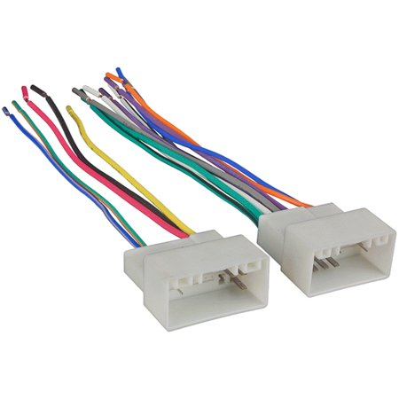 Metra 70 7304 Wiring Harness For Select 2010 Up Kia And Hyundai Vehicles Multi Colored