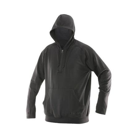 Truspec   24 7 Grid Fleece Hoodie Shirt