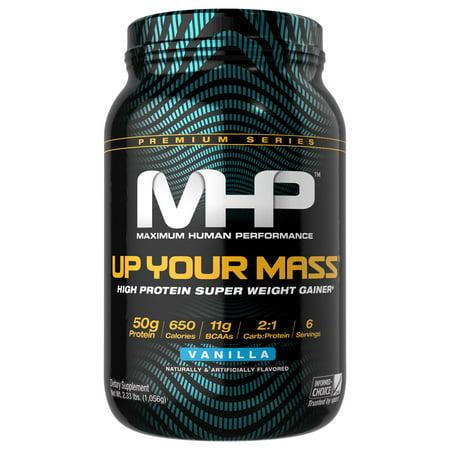 MHP Up Your Mass Powder, Vanilla, 2.33 Lb
