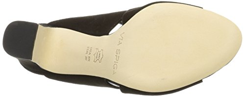 Via Spiga Women's Amya Dress US Sandal, Black, 9.5 M US Dress 1f3aa7