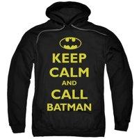 Batman Call Batman Mens Pullover Hoodie