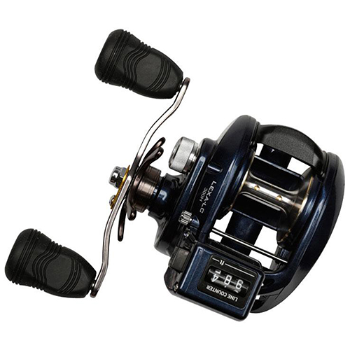 Daiwa Lexa Line LC300 Counter Reel 6.3:1 Gear Ratio, 7 Bearings, 22 lb Max Drag, Right Hand