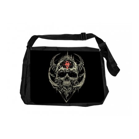 Devil Skull Jacks Outlet TM Laptop Messenger Bag