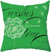 Checkerboard, Ltd Wishes Do Come True Throw Pillow