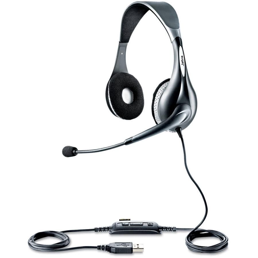 Jabra UC Voice 150 Binaural Over-the-Head Corded Headset