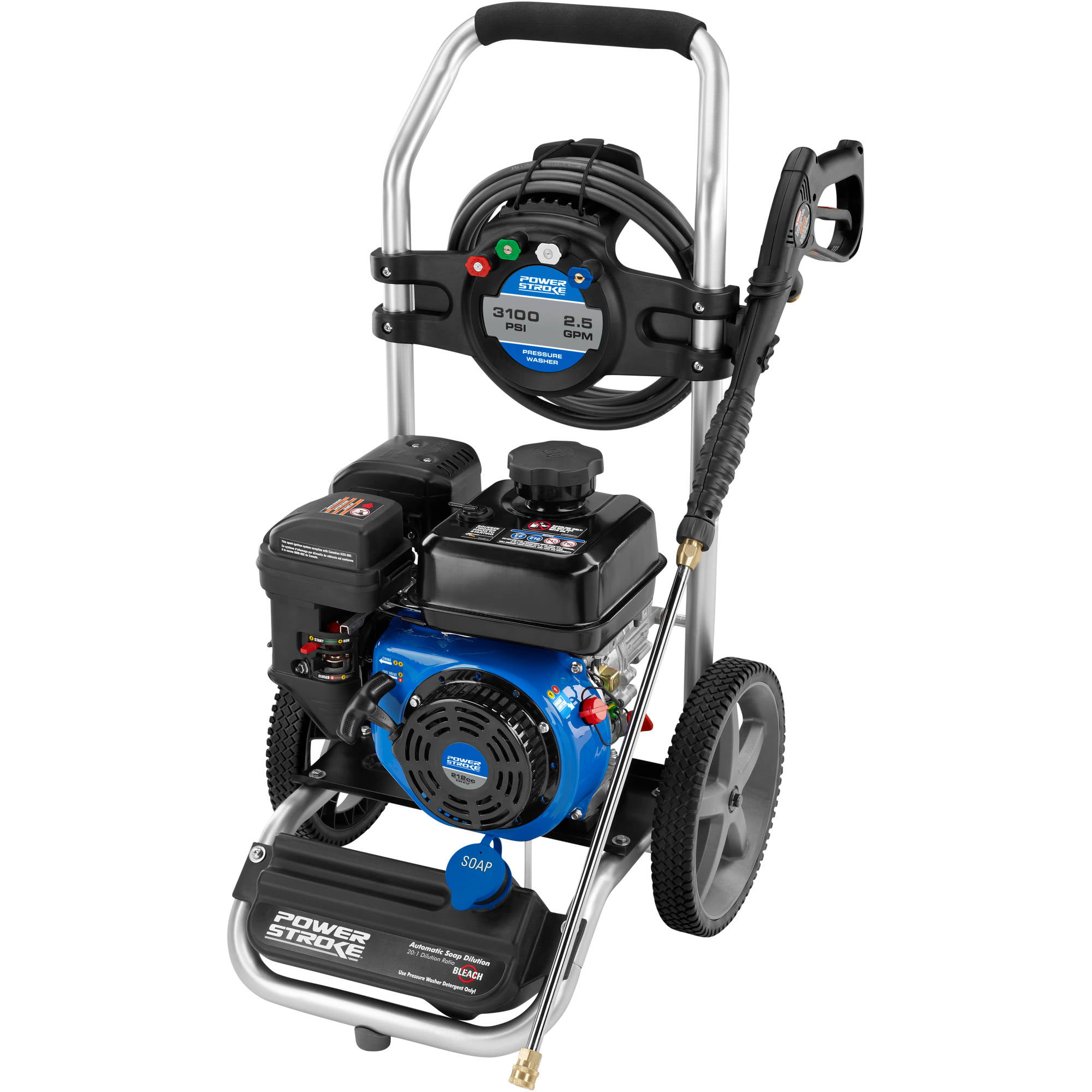 PowerStroke 3100 PSI Gas Pressure Washer - Walmart com