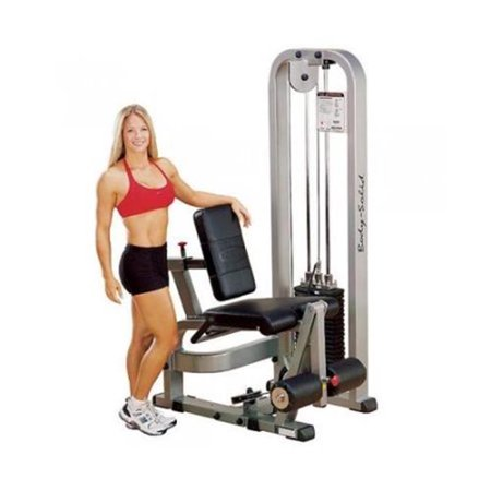 Solid Mat Stack (Body Solid SLE-200G-3 310 lbs Stack Pro Club Line Leg Extension Machine )