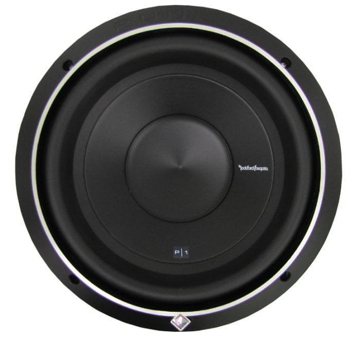 "NEW ROCKFORD FOSGATE P1S4-12 12"" 500 Watt 4-Ohm Car Audio Subwoofer Sub P1S412"