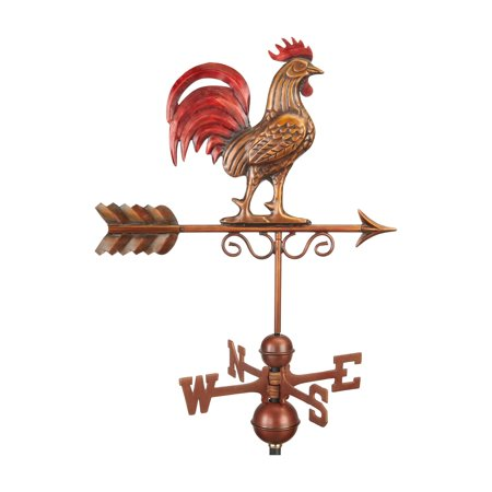 Good Directions Bantam Red Rooster Weathervane