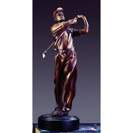 Treasure of Nature Bronze Finish Golfer Award or