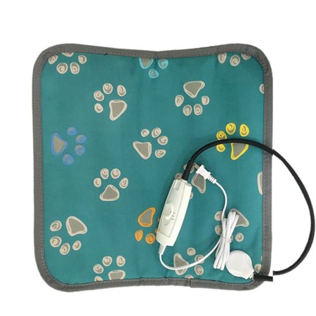 Cute Electric Pet Heating Mat Blanket Heated Cat Dog