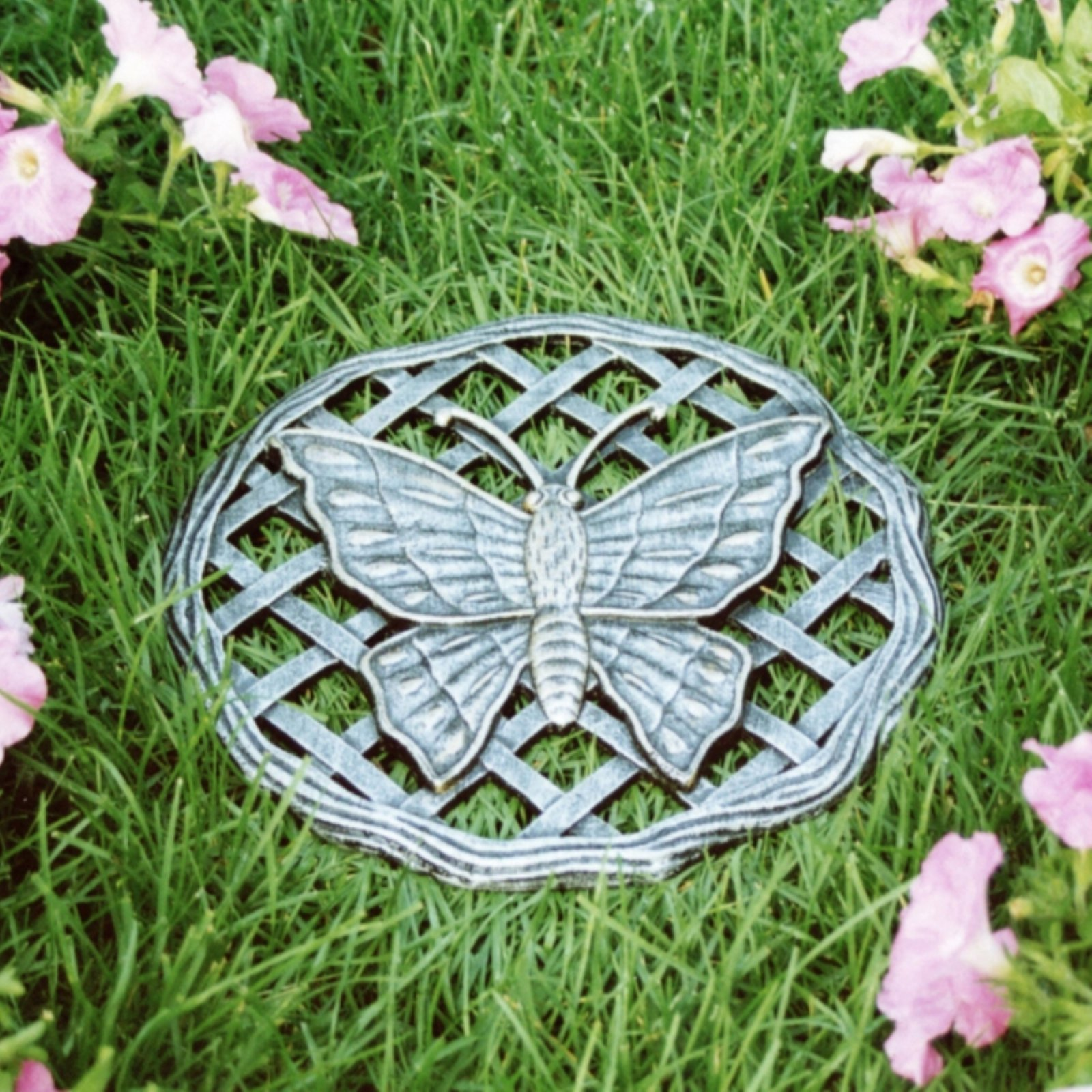 Oakland Living Stepping Stone Butterfly Cast Aluminum by Oakland Living