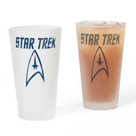 CafePress - Vintage Star Trek - Pint Glass, Drinking Glass, 16 oz. CafePress ()