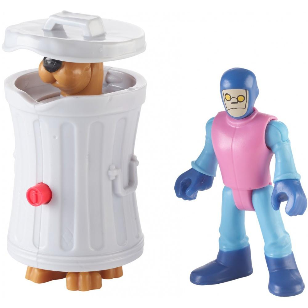 IMaginext Scooby-Doo Hiding Scooby & Funland Robot by Fisher-Price