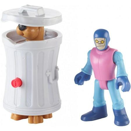 Imaginext Scooby-Doo Hiding Scooby & Funland Robot Figures