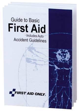 FIRST AID ONLY BK021 First Aid Guide by First Aid Only