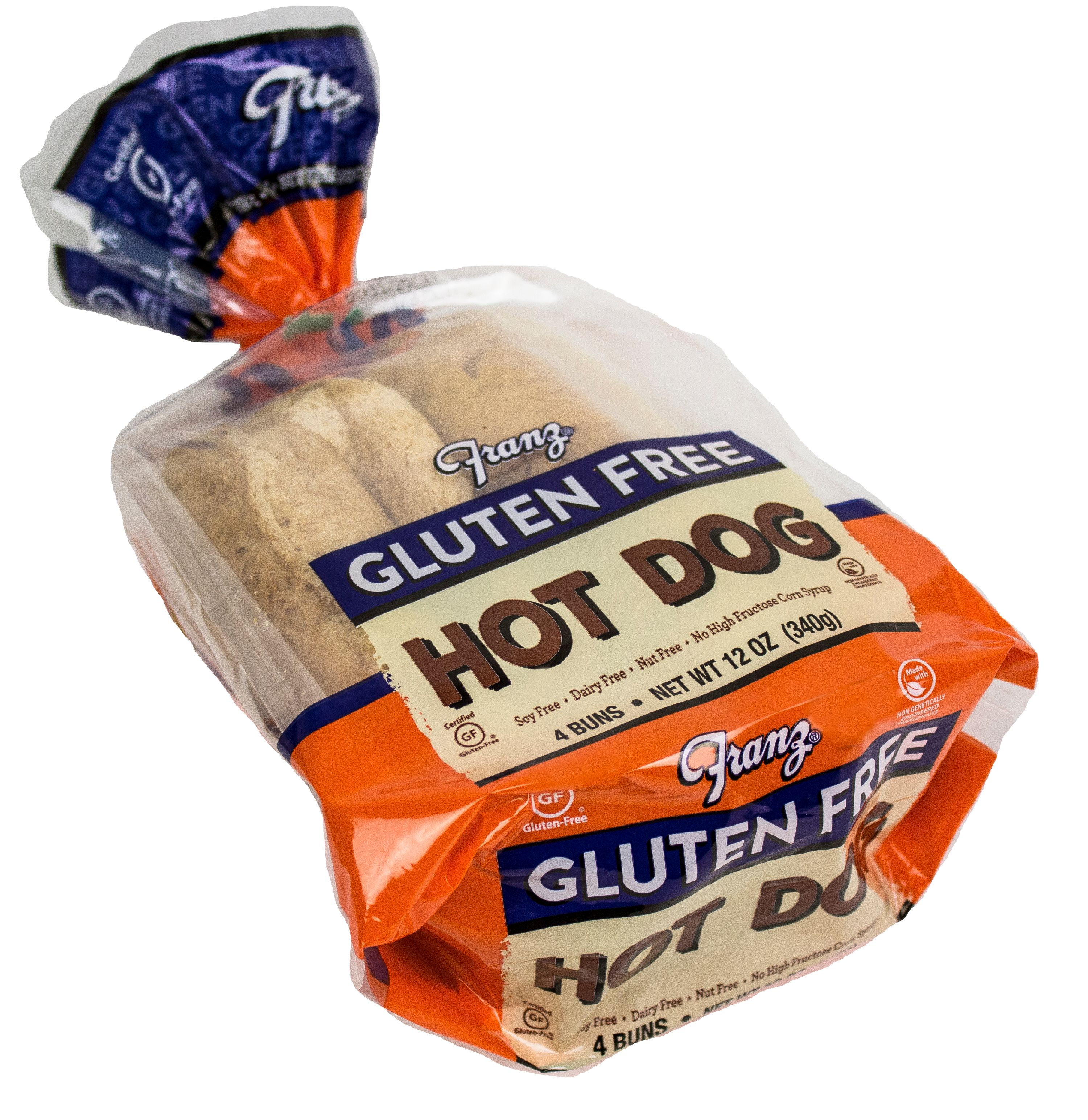 Bakehouse Franz Gluten Free Hot Dog Buns, 12 oz