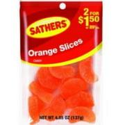 Sathers Orange Slices 12  pack (4.85oz per pack) (Pack of 3)