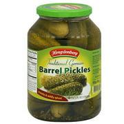 Hengstenberg Traditional German Barrel Pickles, 57.5 fl oz, (Pack of 6)