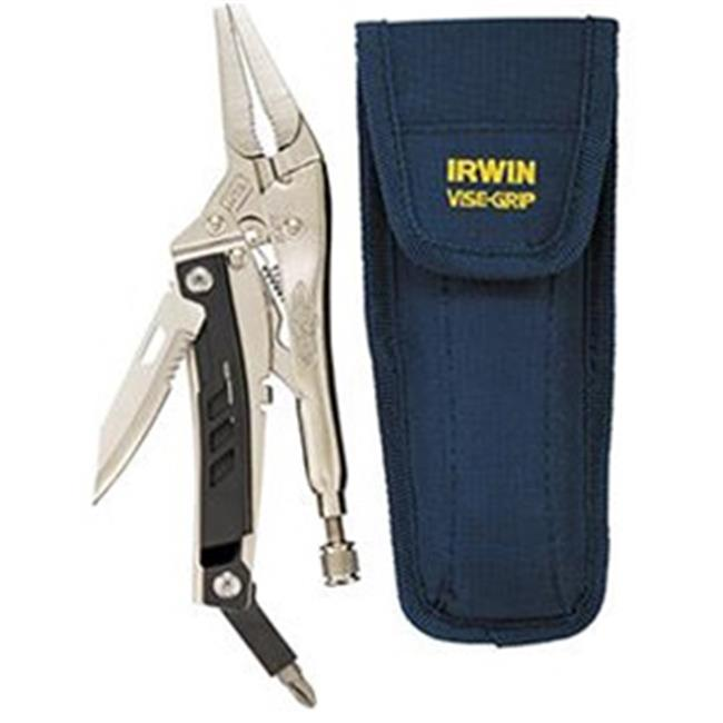 Irwin Industrial Tool Co VG1923491 6LN Multi Locking Pliers With Knife And Driver