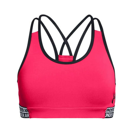 12a49066ba1b5 Under Armour - Under Armour Girls Heatgear Armour Sports Bra - Walmart.com