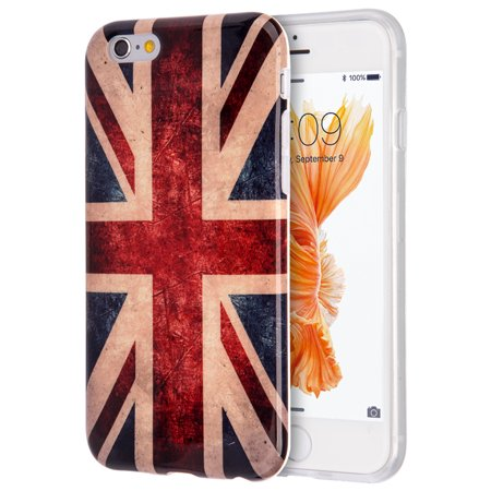 Apple Iphone 6 / 6S Patriotic Vintage Flag Series IMD TPU Case - United Kingdom - Halloween Series Imdb