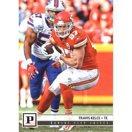 2018 Panini #143 Travis Kelce Kansas City Chiefs Football Card (Glow City Football)