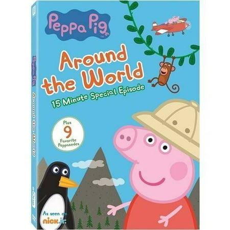 Peppa Pig Around The World - Peppa Pig Halloween Full Movie