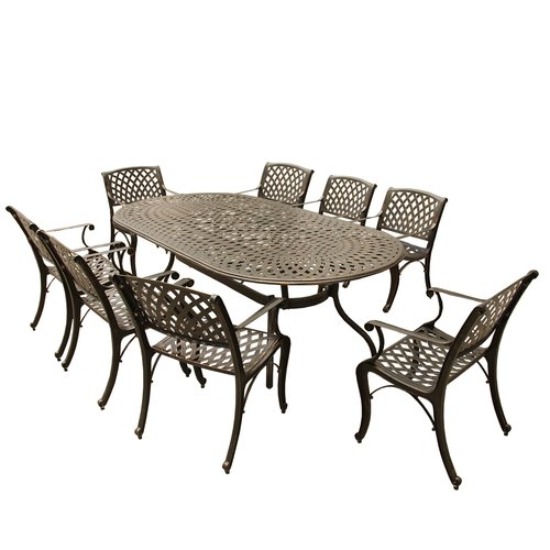 Darby Home Co Siffel 9 Piece Dining Set