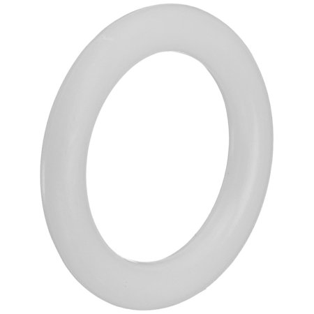 Plastic Bone Rings, 1-Inch, 15 Per Package, Color: Opaque White By Susan Bates