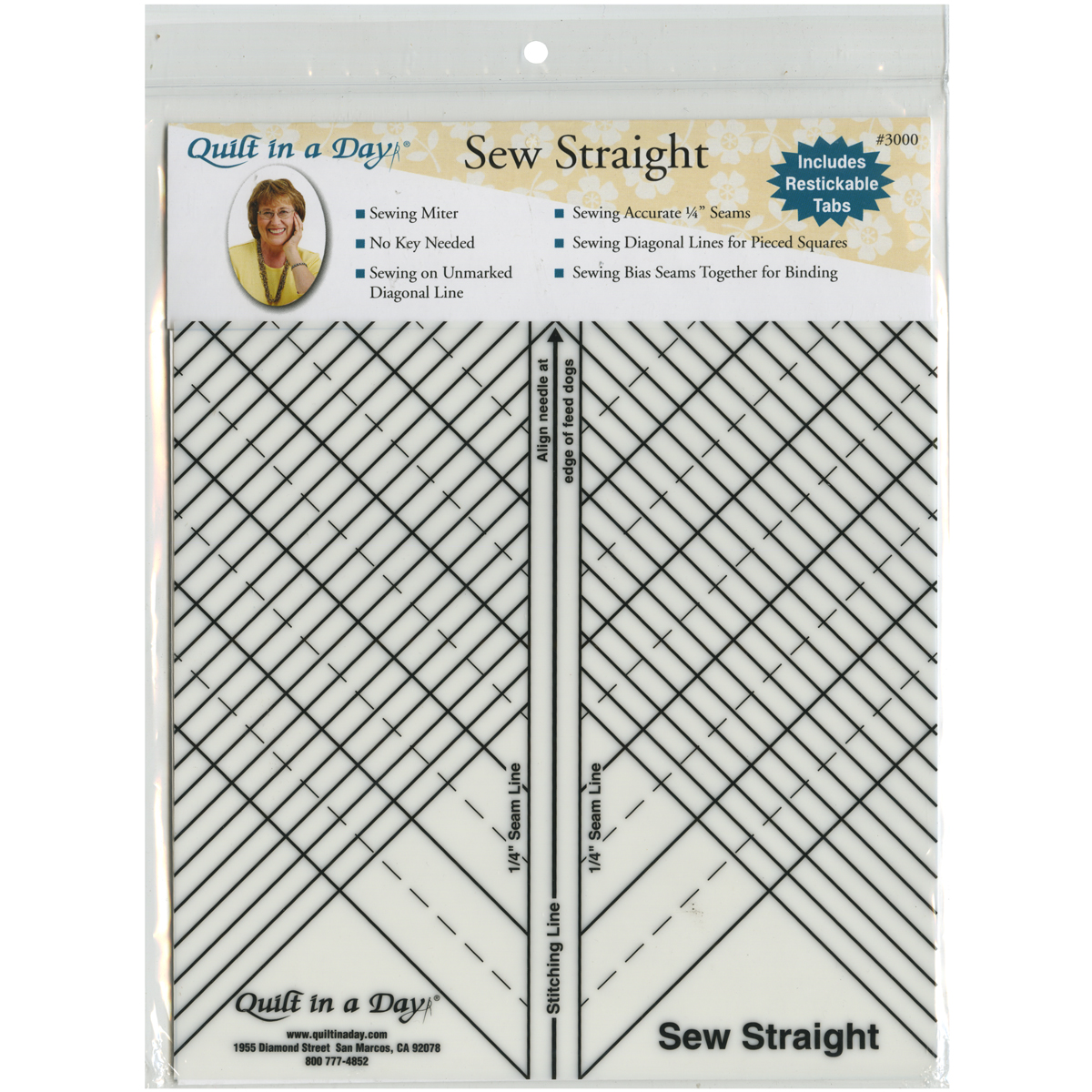 Quilt In A Day Sew Straight-