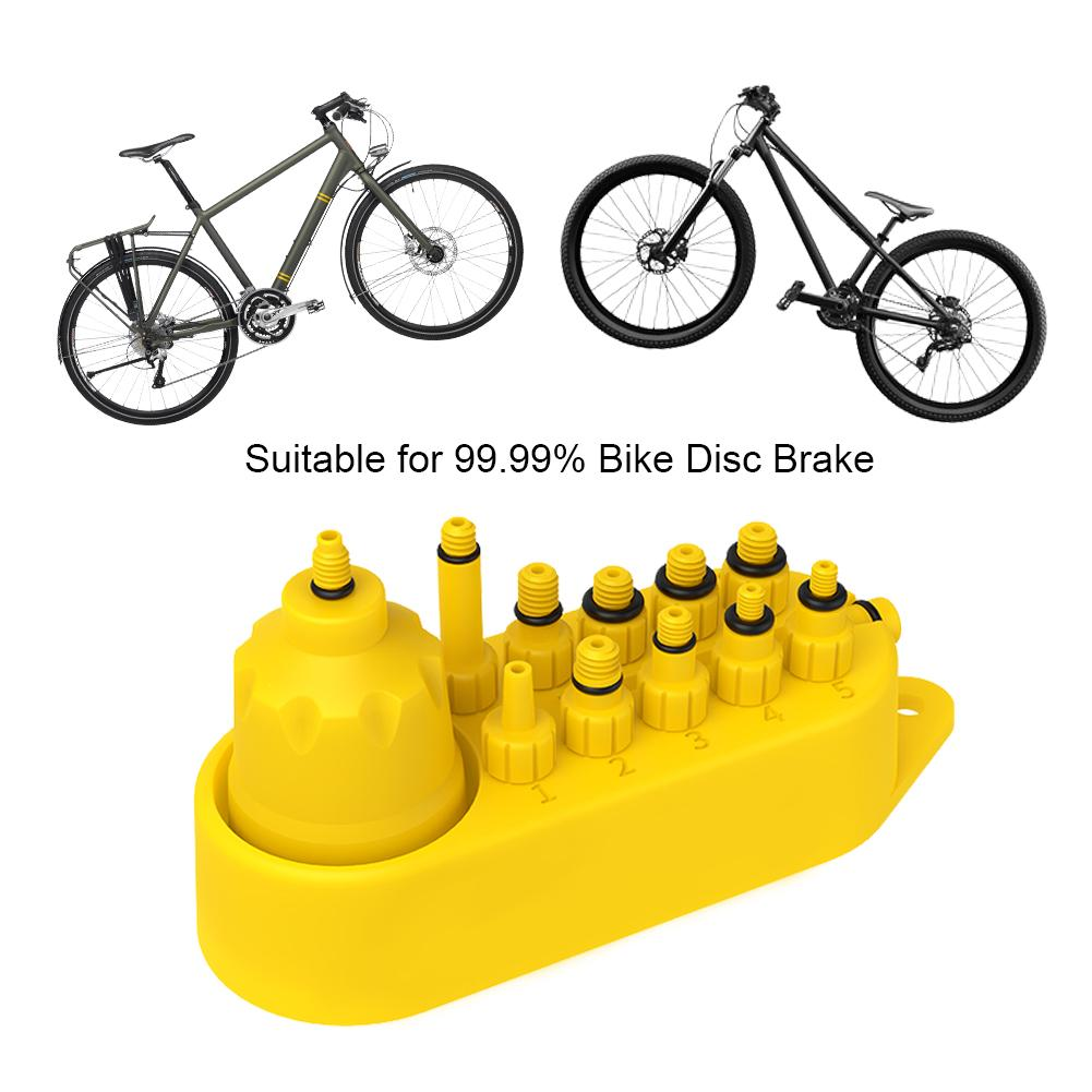 Mineral Oil Bleed Repair Tool Connector for Bicycle Bike Hydraulic Disc Brake