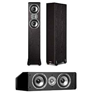 Polk Audio TSi300 3.0 Home Theater Speaker Package (Black) by Polk Audio