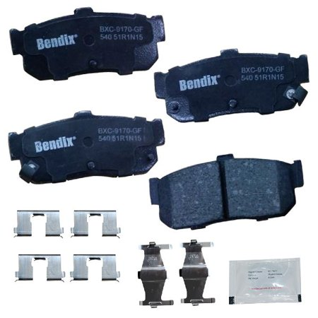 Maxima Brake - Go-Parts OE Replacement for 1991-2001 Nissan Maxima Rear Disc Brake Pad Set for Nissan Maxima (Base)