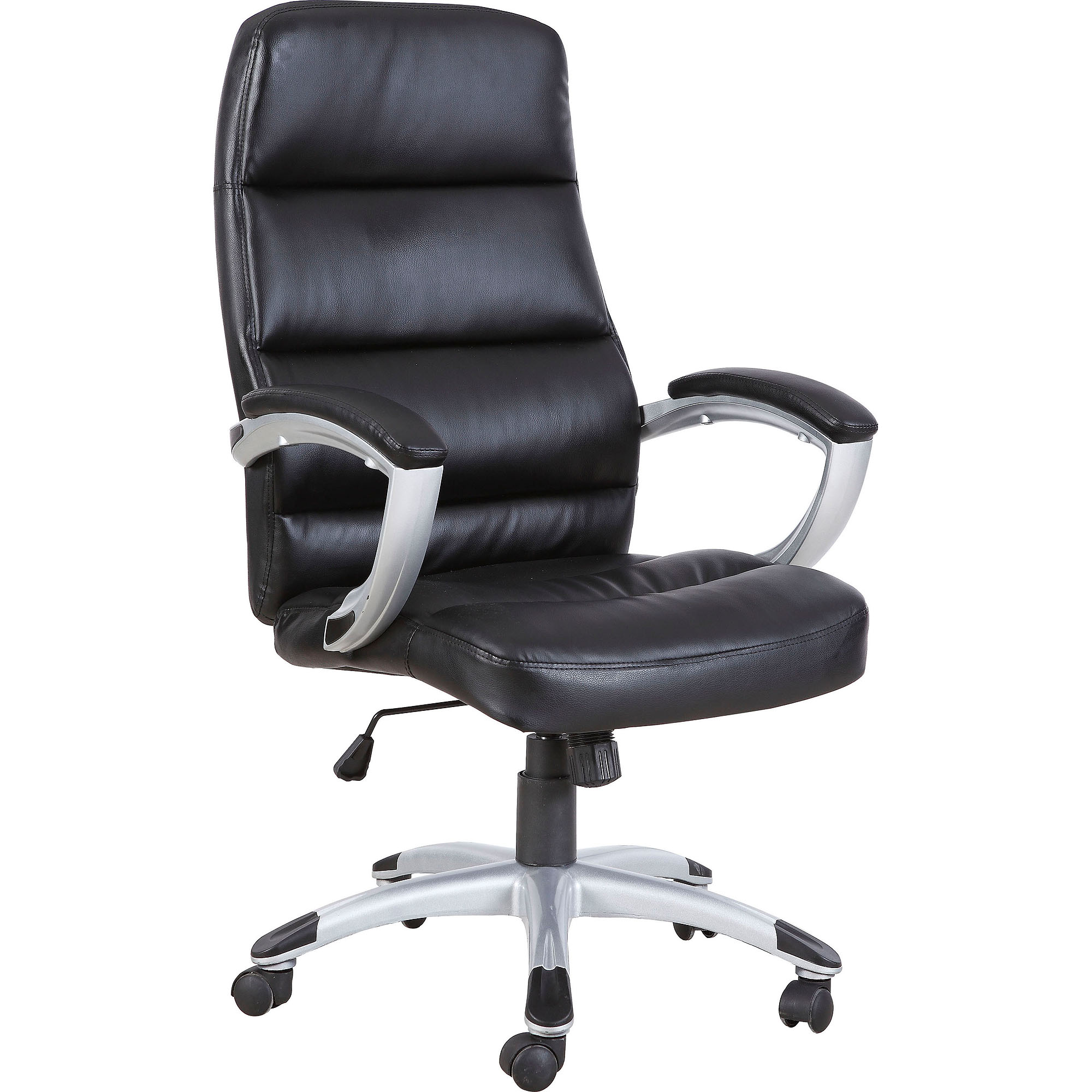 Techni Mobili High Back Executive Office Chair, Black