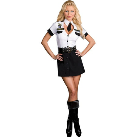TSA Strip Search Unit Women's Plus Size Adult Halloween Costume