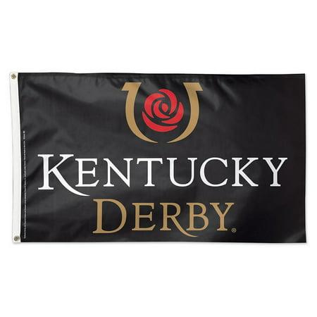Kentucky Derby Logo Flag - Kentucky Derby City